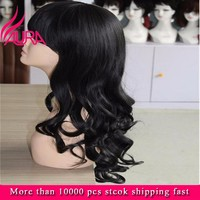 AURA Water Wave Deep Wet and Wavy Glueless Full Lace Wigs With Baby Hair Natural Color 100 Human Hair wig for Black Women