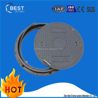 China Best EN124 traffic facility gas round frp manhole drain covers