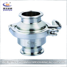 "CE ISO Certificated 1/2""-8"" Sanitary Stainless Steel Mini Check Valve"