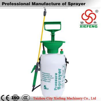 CE pest control manual pump pressure sprayer