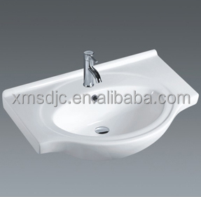 Chinese cheap bathroom wash basin undercounter cabinet sink