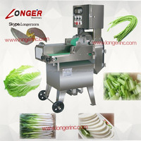 Green pepper/French bean/scallion cutting machine|Leaf vegetable cutter