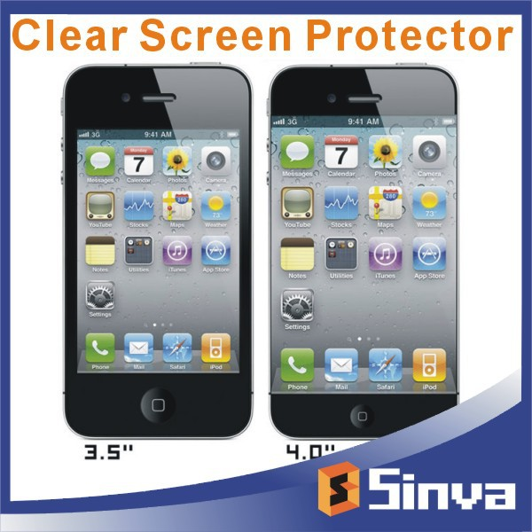 japan pet material clear screen protector roll Wholesale