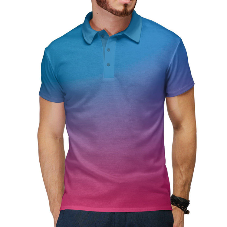 oem manufactory custom high quality dri fit soft breathable men custom sublimated light weight polo t shirts(A852)