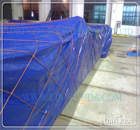 boat cover and agriculture cover plastic PE tarps in bale packing