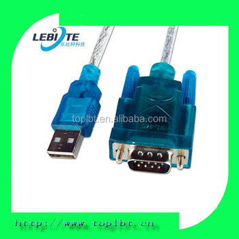 USB2.0 to RS232 converter cable Male To Male