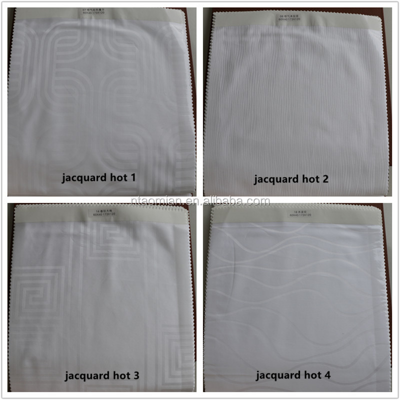 jacquard textile fabric for hotel mattress cover