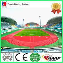 Full PU System Synthetic Running Track Stadium Surface material (Free-granules Type)