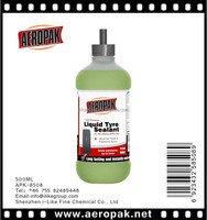 Aeropak tyre puncture sealant,Liquid Tire Sealant(SGS,REACH,ROHS)