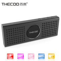 Thecoo new products looking for distributor 6w subwoofer pill bluetooth speaker with TF card play