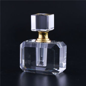 Modern style attractive crystal fragrance bottle for girls