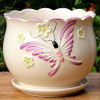 Haonai 2016 hot sale cheap ceramic flower pot