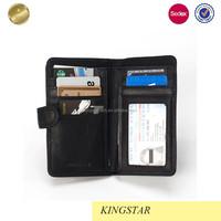 Best Selling Custom Fashion Leather Wallet for men