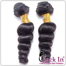 Pollution-free dyeing of pure natural human maiden Brazil loose wave