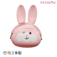 Silicone Scented Bunny Ear Easter Coin