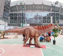 Outdoor amusement park jungle theme decoration artificial dinosaur