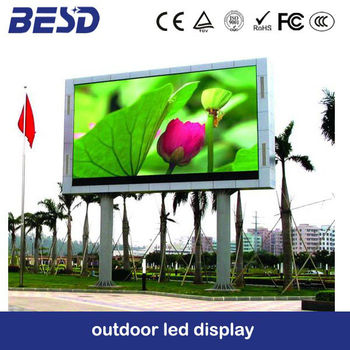 P10 full color outdoor led display/led screen/led panel