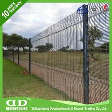 Galvanised Steel Mesh / Plastic Coated Wire Mesh Panels / Securifor Fencing