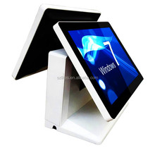 15.6 inch touch screen touch android pos device terminal with build In thermal