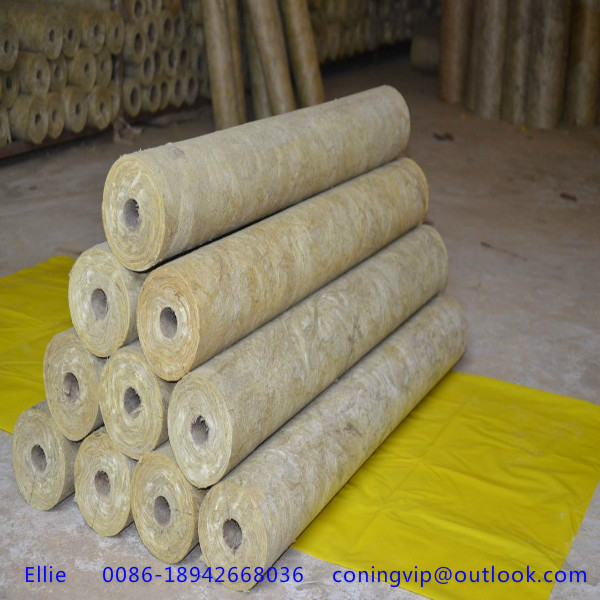 High Quality Rock Wool Pipe For Heat Insulation Of Various