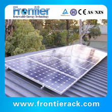 Solar Adjustable Tin Roof Mounting System