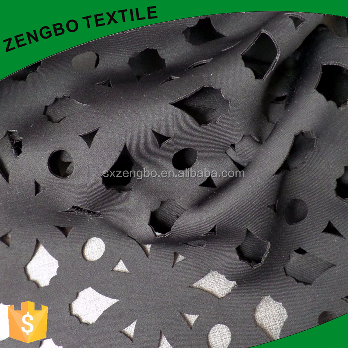 computer cutting polyester scuba knit fabric polyester microfiber fabric