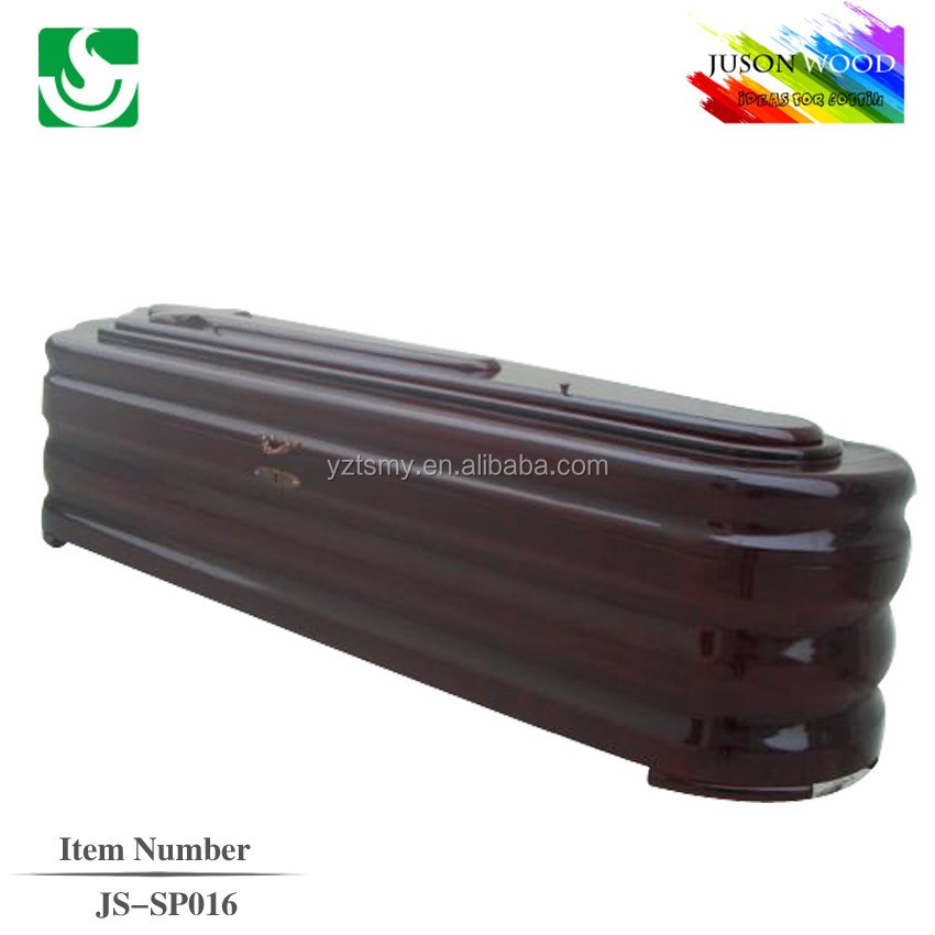 wholesale solid wood Spanish coffin