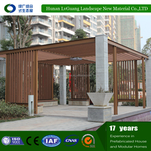 High Quality Environmental WPC Pergola&Pavilion with buautiful appearance
