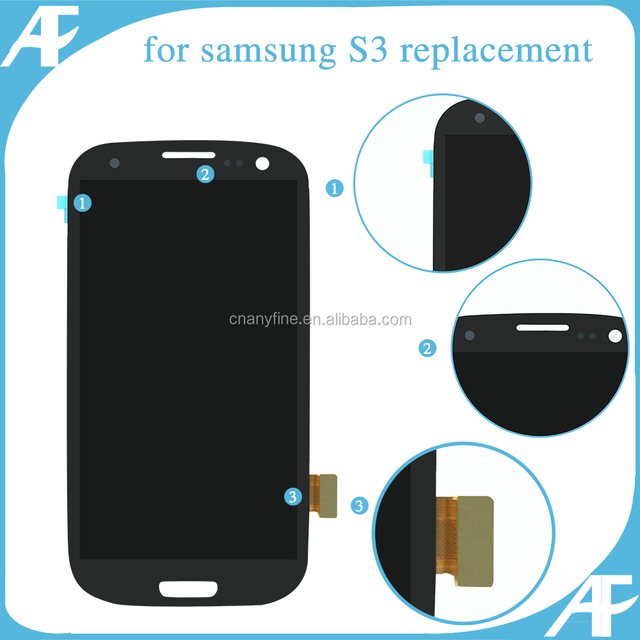 Top Sales For Samsung Galaxy S3 LCD Display Screens