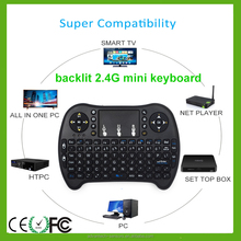 i8+ Mini 2.4GHz Wireless Keyboard with Mouse gaming pad for PC, PAD, set top box, Google Android TV Box, HTPC, IPTV ,projector