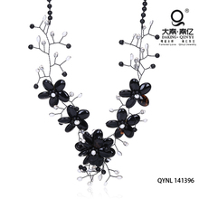 The mysterious black agate necklace fashion jewelry citi trends jewelry