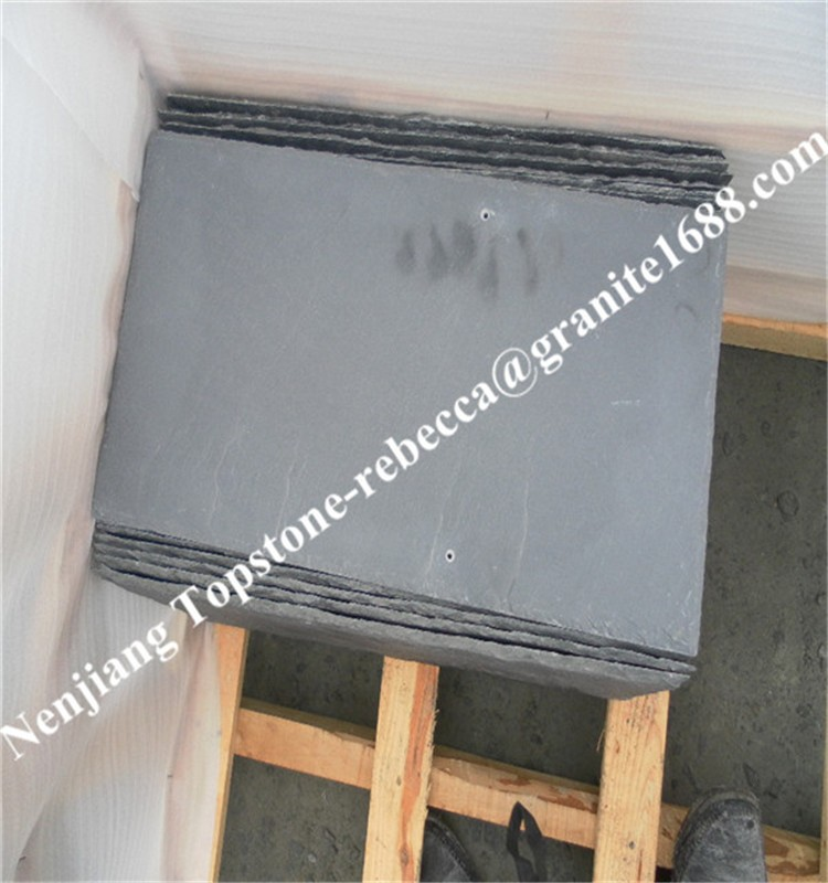outdoor slate paving tile, black slate tile