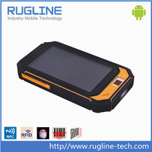 7 inch android warehouses scanner with fingerprint and rfid
