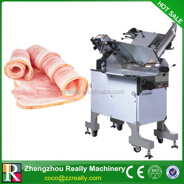 Automatic Frozen stainless steel meat slicer / Beef cutting machine
