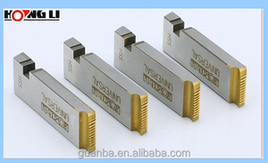 "alloy/HSS pipe rolling dies 1/2""-4"" for threading machine"