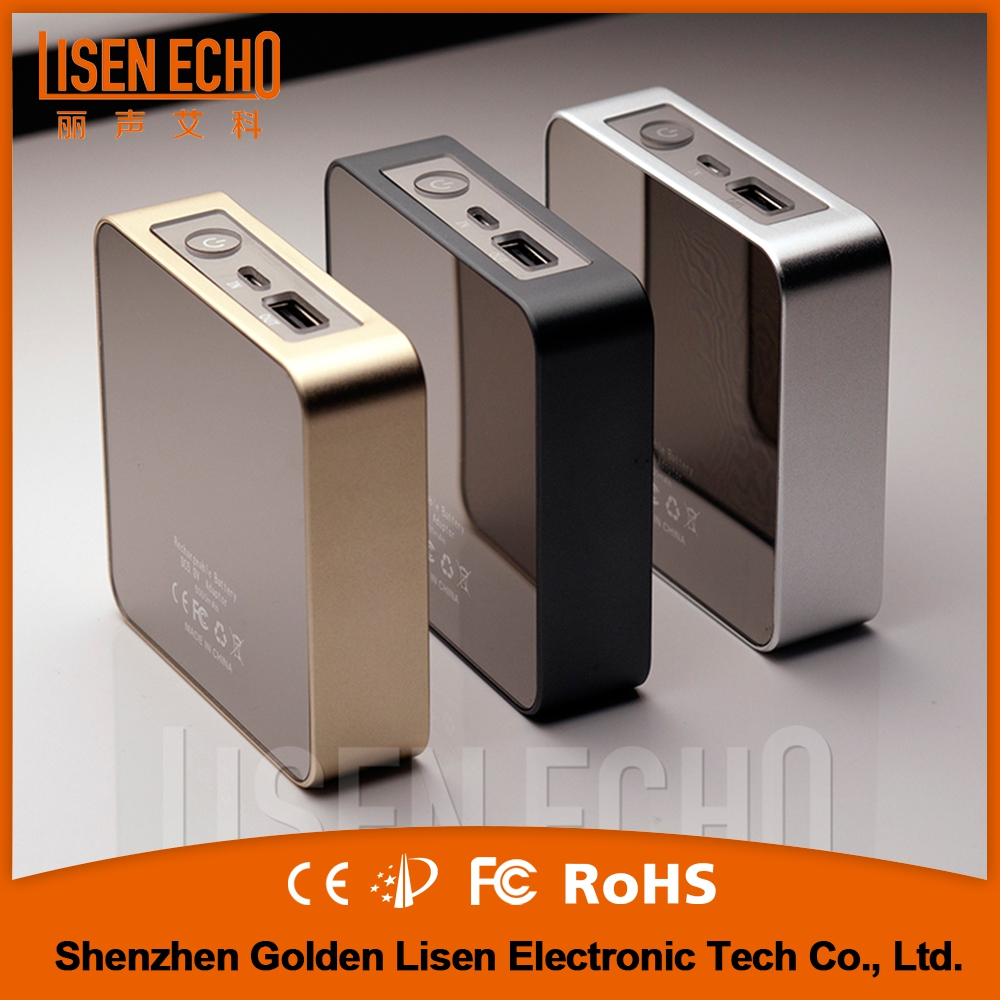Short time delivery good performance china cheapest LCD digital display portable power bank for mobile phones