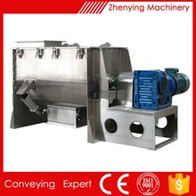 stainless steel food industry paddle mixer