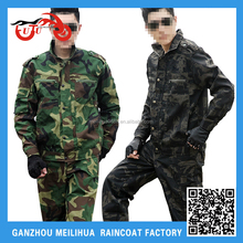 Custom Men's High Quality Breathable BDU Camouflage Army Military Uniform