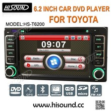 Car DVD Player with reversing camera GPS touch screen for Toyota