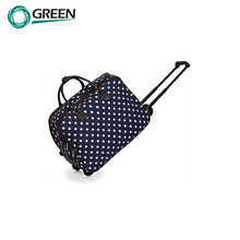 Functional Polo Polyester Travel Trolley Luggage Bag