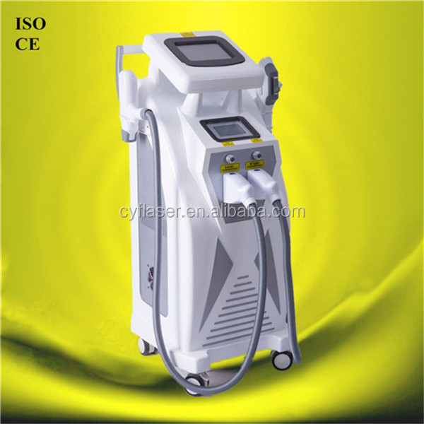 Best IPL OPT SHR hair removal/micro needle RF face lifting/ND yag laser machine