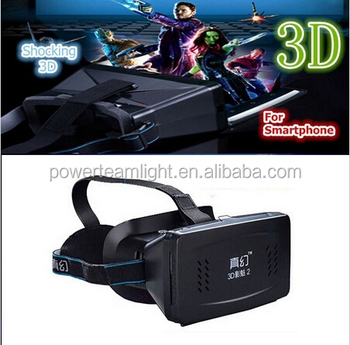 "Wholesale ColorCross the Google Universal Virtual Reality 3D Video glasses for 4 ~ 7 ""smartphone cardboard"