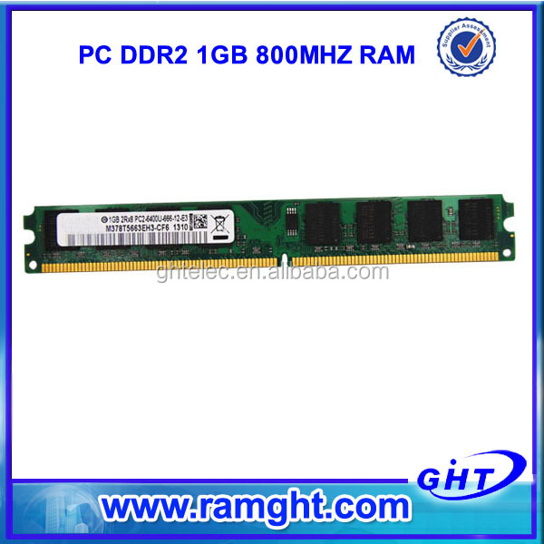 Brand/oem clients logo 64mbx8 240pin desktop ddr 2 1gb ram