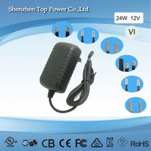 switch-mode power supply 24v 1a100-240v ac 24w ac/dc wall adaptercctv power adapter 24v 1a