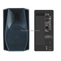 "15"" speaker box with amplifier dj speaker box"