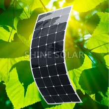 wholesale High quality flexible sunpower mono 100w 18v 12v solar panel