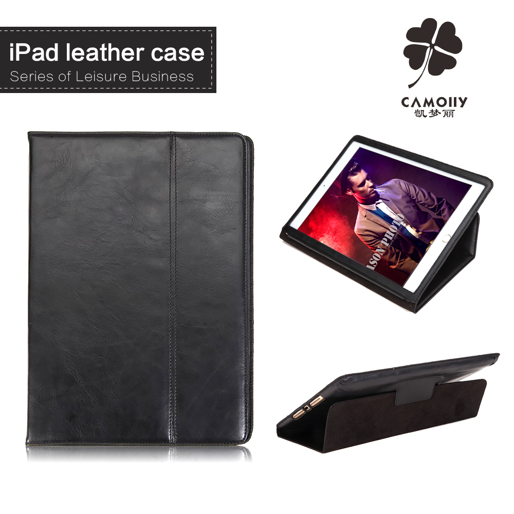 2016 for ipad air 2 for ipad case with auto sleep, high quality luxurious real leather for amazon