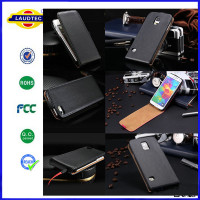 For Samsung Galaxy S4 i9500 Luxury Genuine Real Leather Case,Flip leather case for Samsung --Laudtec