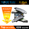 Carbon Titanium Fiber auto brake pads D1479 for car
