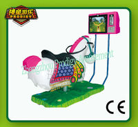 2013 hot kids game machine -crazy horse/horse racing game